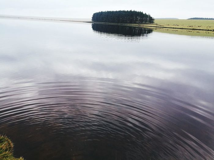 Rippled Ripples On The Lake Ripples In The Water Reflection Water Lake Nature Outdoors Beauty In Nature No People Day Scenics Reflection Nature Reservoirs
