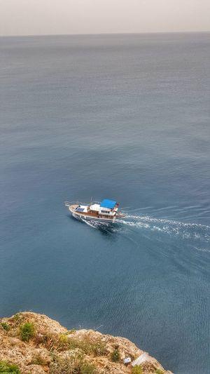 what a view! Travel Antalya Falez Goodbye Deniz Tekne Yolculuk Traveltime Fishing Time Fish Boat Fishingboat Sea Nature Beauty In Nature Sky An Eye For Travel