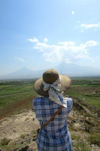 Portrait Of A Friend Relaxing Armenia Travel