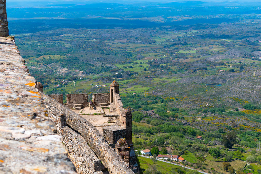 Castelo de Marvão Castle Land Landscape_Collection Wall Castle Ruin Castle View  Horizon Landscape Landscape_photography