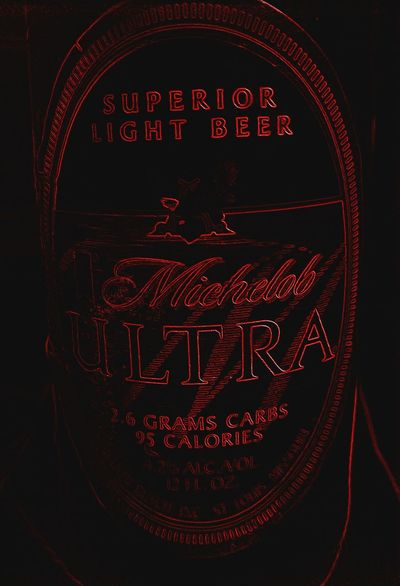 Having A Beer Michelob Ultra
