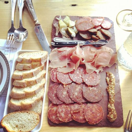{instagram post} charcuterie platter yum