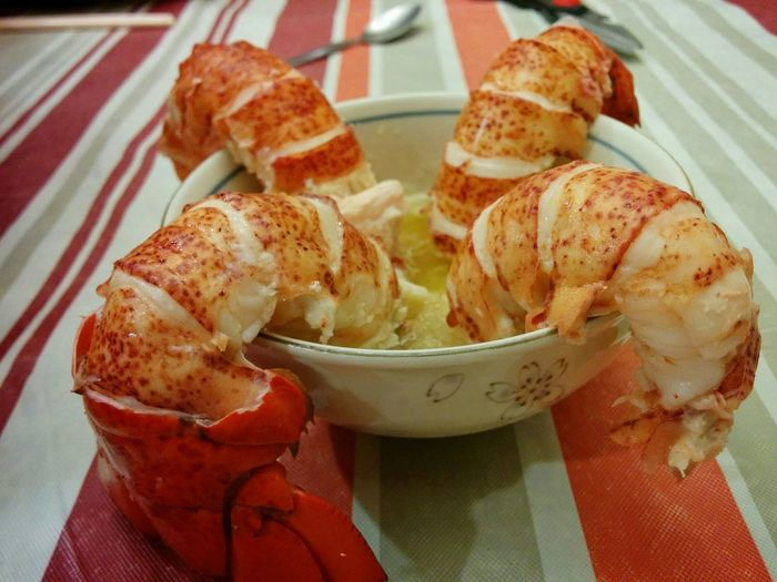 Lobsters LobsterTail Foodporn Foodphotography Seafoods Homemade Cooking At Home Manwhocooks