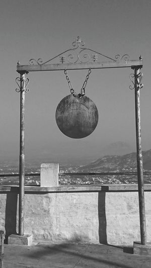 Mountain Temple ..... Bell ..... Ding Dong...... Blackandwhite