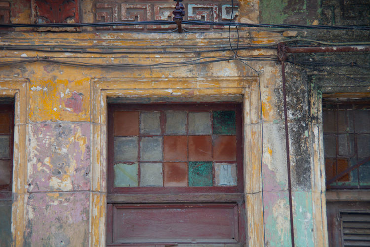 Architecture Faded Beauty Faded Color Havana Old Buildings Patina Spanish Arquitecture Vintage