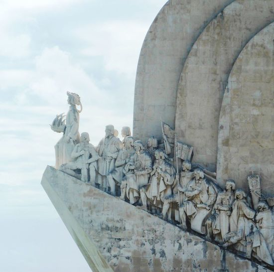 Discoveries Monument Lisbon Lisboa Portugal