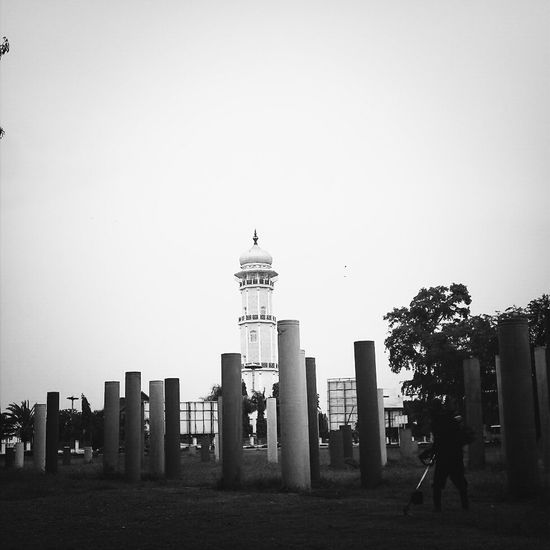 Baiturrahman Mosque tower KCe
