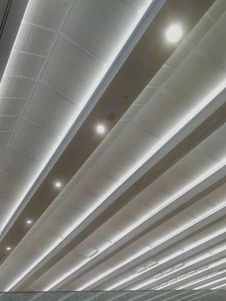 Lighting at ceilimg cove No People Perspective Ceiling Design Cute Modern Indoor Lighting Design Cove Ceiling Lumen Overhead Pattern Interior Design Backgrounds Mall Bangkok Thailand Modernism Down Light Lighting