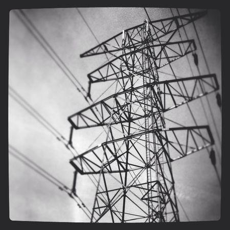 Electric Electric Wire Electric Lines Järfälla