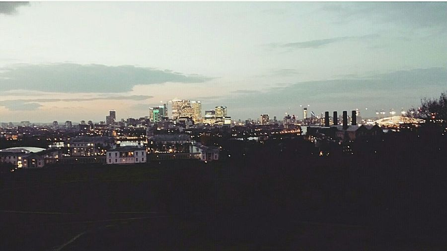 Overlooking the city. London Urbancity