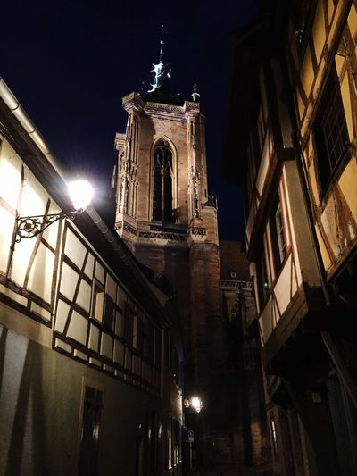Beautiful City of Colmal in the Region Alsace