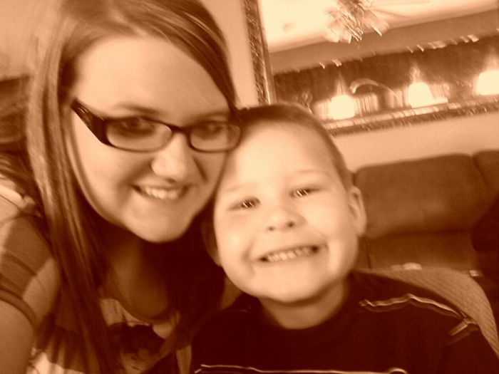 My Baby Boy is growing up so FAST! Happy 7th Birthday Bubba!