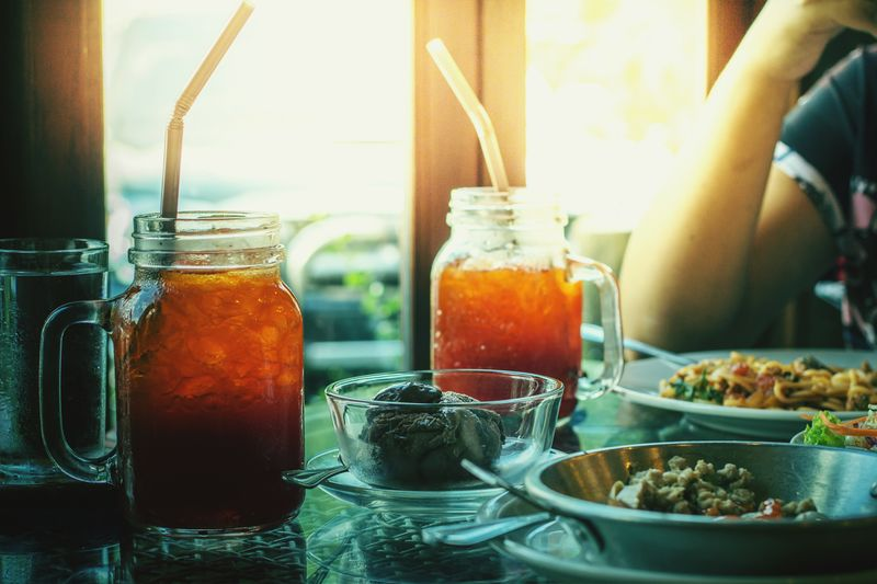 Healthy Eating Food And Drink Indoors  Food Healthy Lifestyle Lifestyles Homemade Day Freshness Close-up People Adult Business Sunlight TeaCup Tea Spagetti Iscream
