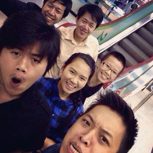 Cousins  Junctionsquare Shoppingcenter Yangon Selfie
