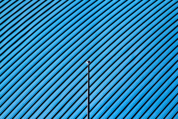 Abstract Architecture Backgrounds Blue Close-up Day Design Detail Full Frame Geometric Shape Metallic Minimal Modern No People Outdoors Pattern Repetition Textured  TakeoverContrast Minimalist Architecture Copy Space EyeEm Ready   The Graphic City Visual Creativity #urbanana: The Urban Playground 17.62°