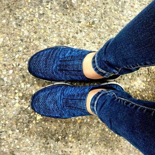 Happy Feet Favorite Color Shoes Shoeselfie Shoes Of The Day Cellphone Photography Pebbles And Stones Stone Background Stone Pathways Pebble Pattern Daytime Photography OffToSomewhere Pants And Shoes >>