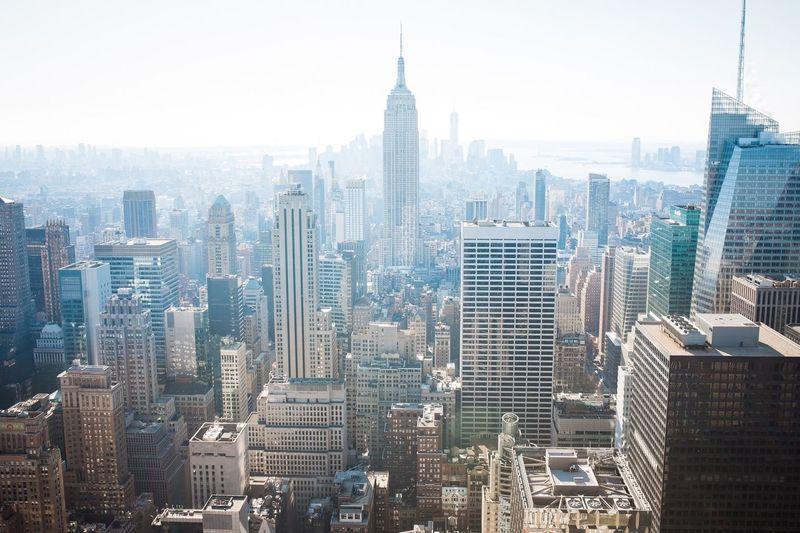 New York from Rockefeller Center New York City New York Top Of The Rock Rockefeller Center Manhattan Birdsview