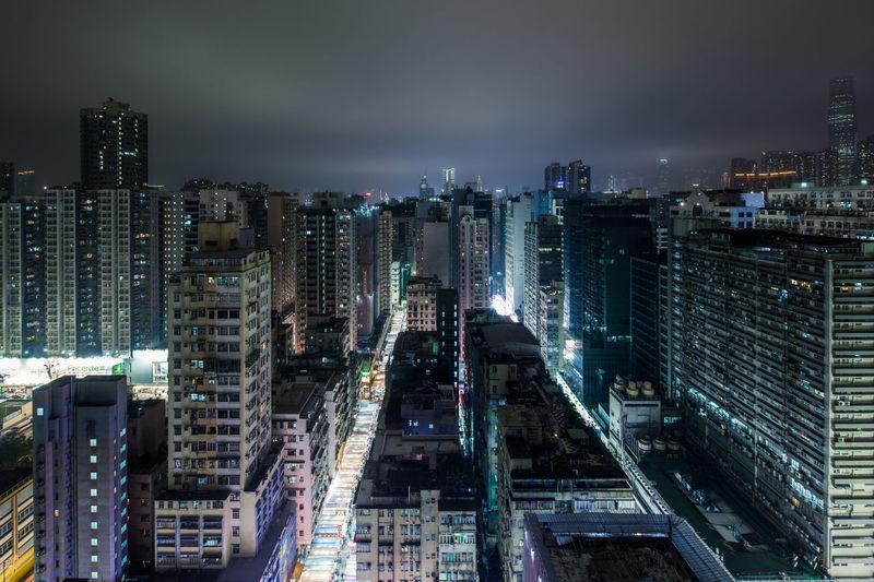 Nightview of Mongkok, Hong Kong Architecture Building Building Exterior City City Life Cityscape Community Development Hk Hong Kong Mongkok Night Nightview Skyscraper First Eyeem Photo