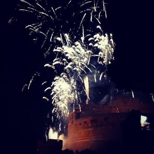 Fireworks Castelsantangelo Rome🎇🎆😁😁😁😁
