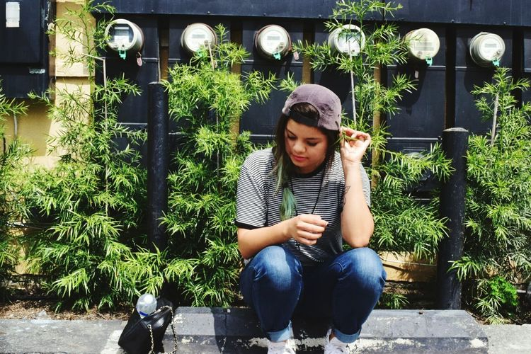 Fairfax Nikon Me :)  Check This Out Hello World Nikonphotography Greenplants Huf Girl Losangeles