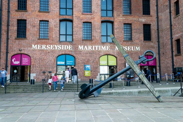 Liverpool Liverpool England Maritime Albert Dock Maritime Museum Merseyside Museum