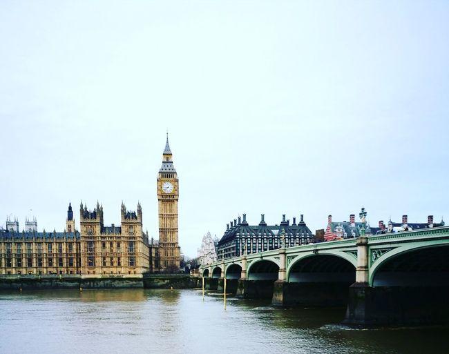 Travel Destinations City Bridge - Man Made Structure Travel Architecture Clock Tower Outdoors Cityscape London Bigben