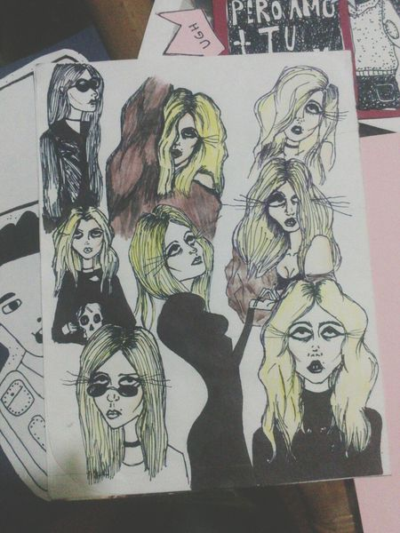 Drawing Draw Something Taylormomsen Theprettyreckless