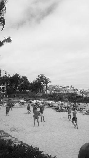 Gran Canaria Beach Blac&white  Anfi Del Mar