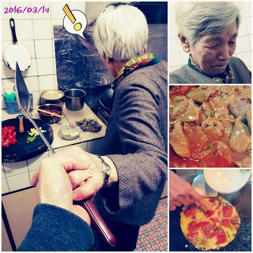 20160314-跟著💕阿嬤→漫遊廚藝。 白色情人節 White Day♡