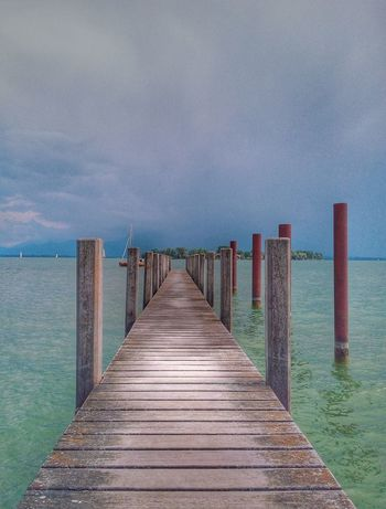 Water Sea Beach Jetty Wood - Material Pier Sky Horizon Over Water Hooded Beach Chair Calm