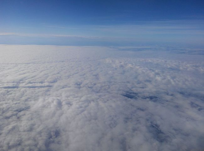 Hello World ,a sea of cloud