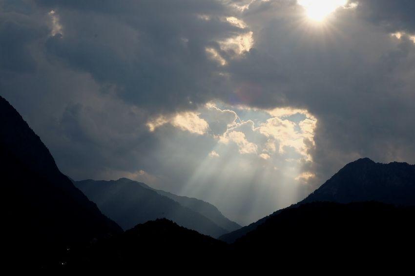 Mountain Sky Landscape Cloud - Sky
