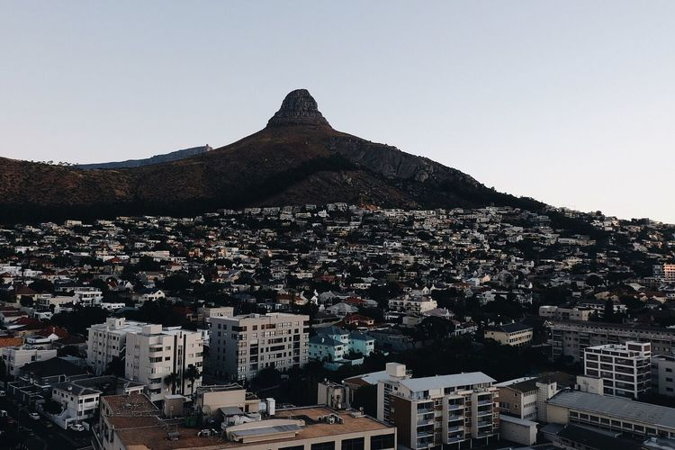 Different view of the king of the jungle. Lions head looking out over the city of Cape Town. Southafrica Cape Town South Africa Vscocam Fujifilm Xt-10