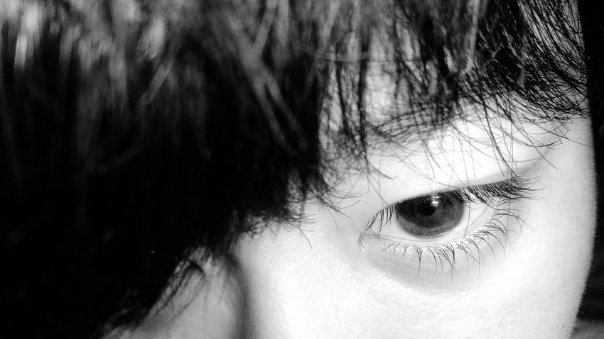 Close-up One Person Human Body Part Human Eye Eyelash People Only Women One Woman Only Young Adult Eyesight Day Life ZenfoneSelfie Snapseed Mobile Photography