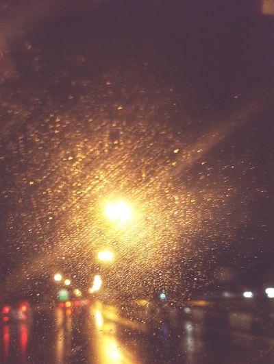 Rainy Days Night Lights Highway Check This Out Neon Lights Reiimy Damncool
