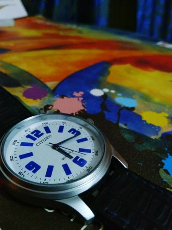 #Watch #objects #colourful Time Clock Clock Face No People Multi Colored Indoors  Close-up first eyeem photo
