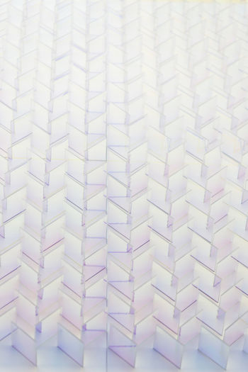 Glass wall pattern design White Color Pattern Indoors  No People Full Frame Backgrounds Close-up Still Life Large Group Of Objects Repetition Textile Design In A Row Paper High Angle View Textured  Shape White Abundance Art And Craft Blank Geometric Shape Glass - Material Colors