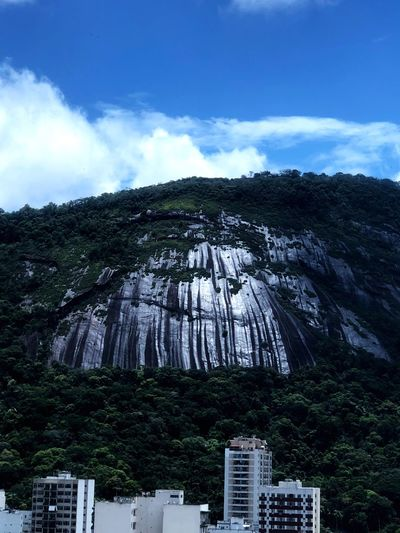 The Rock after Summer Rain Summer Rain Mountain Cloud - Sky Scenics Sky Tranquil Scene Architecture No People Mountain Range Physical Geography