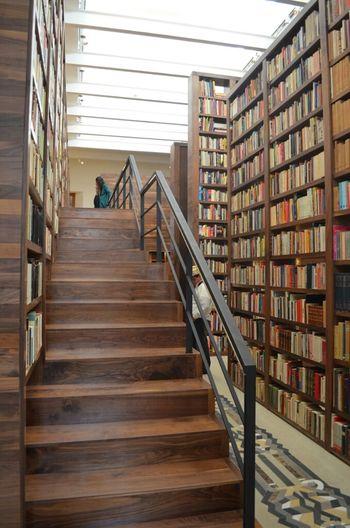 biblioteca-acervo Monsivais Interior Design La Ciudad De Los Libros Architecture