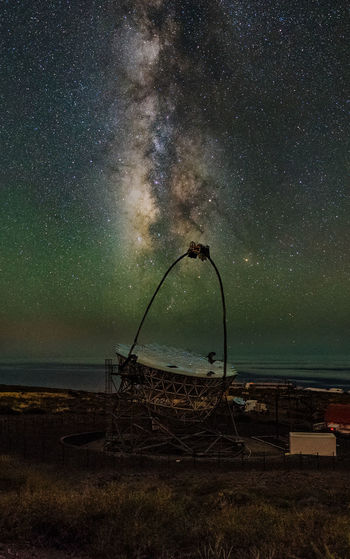 Canary Islands Galaxy LaPalma Nightphotography Nikon Magic Telescope Milky Way Night Sars Telescope
