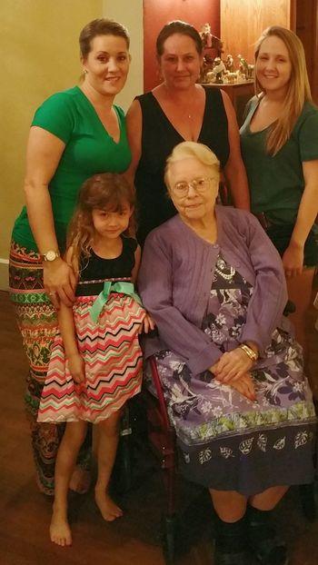 Celebrations Happynewyear Cheese! Generations Enjoying Life Party Kayla♡ Natalie💘 Josie ❤ Family Taking Photos Group Photo Grandmother