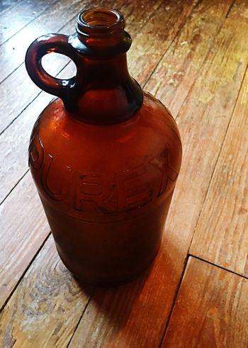 Lieblingsteil Purex Old Bottles Old Bottle Bottle Brown Still Life Find Vintage Design Nostalgia Old Antique Old-fashioned Bleach Collection Glass Glass Objects