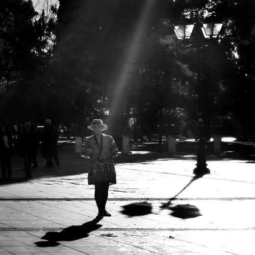 Shadow Real People People Streetphotography Street Photography Blackandwhite Black And White Photography Black&white Shadow Monochrome Street Greece Athens B/w B/w Collection B/W Photography Black And White Full Length Lifestyles Tree One Person Leisure Activity Outdoors Men Adult Nature