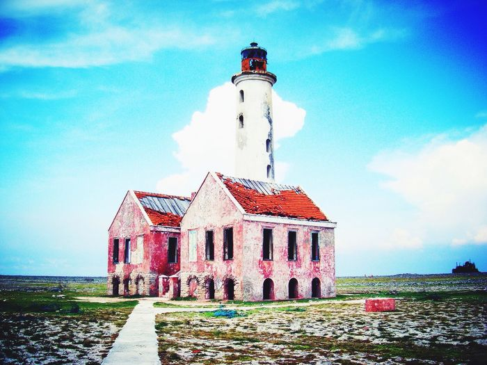 Curacao Klein Curacao Island Firetowershots 2008 Landscape With Whitewall The Great Outdoors - 2016 EyeEm Awards The Culture Of The Holidays Nature Weather Beautiful Outdoors Lighthouse Lighthouses Lighthousephotography Architecture Built Structure