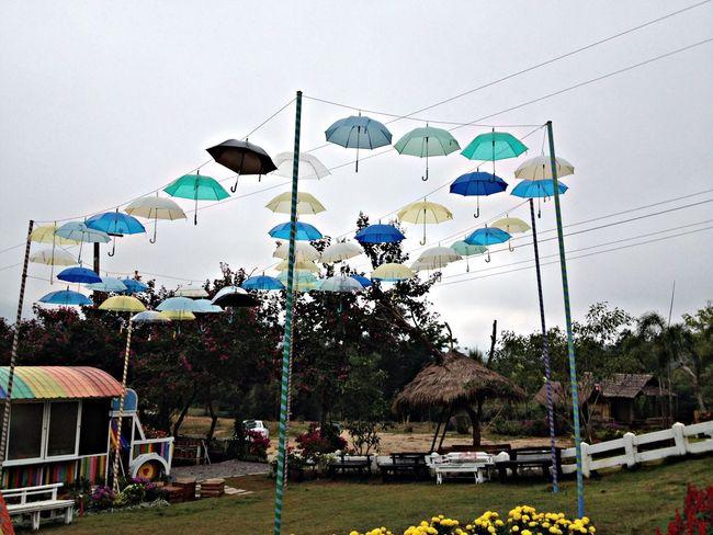 Pai, Thailand. Landscape Skyporn Umbrella