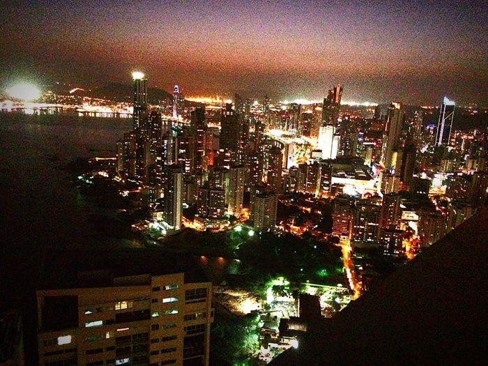 Para disfrutar de la hermosa vista de cda Panama