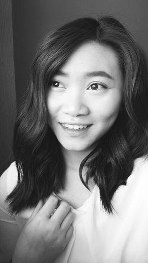 Blackandwhite Selfie Selfportrait Photography Smile