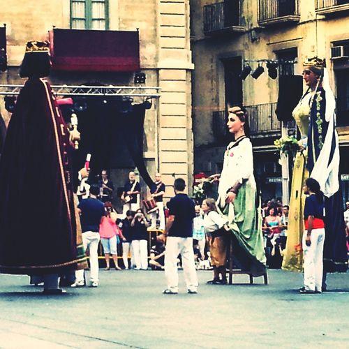 Gegants Festa Major Catalan Culture