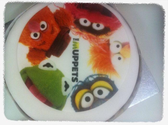 Muppet Birthday joy for @chateau_de_dave at SoundCloud (UK) HQ Muppet Birthday Joy For @chateau_de_dave