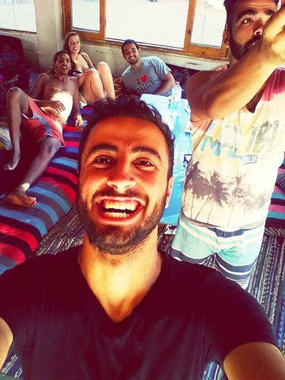 Relaxing Fun Beautiful Friends 7heaven Dahab Beauty Selfie ✌ Double Exposure :D